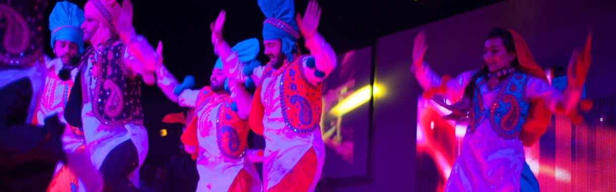 diwali ceremony dancers