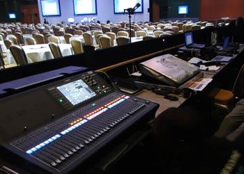 pa system midas sound desk london