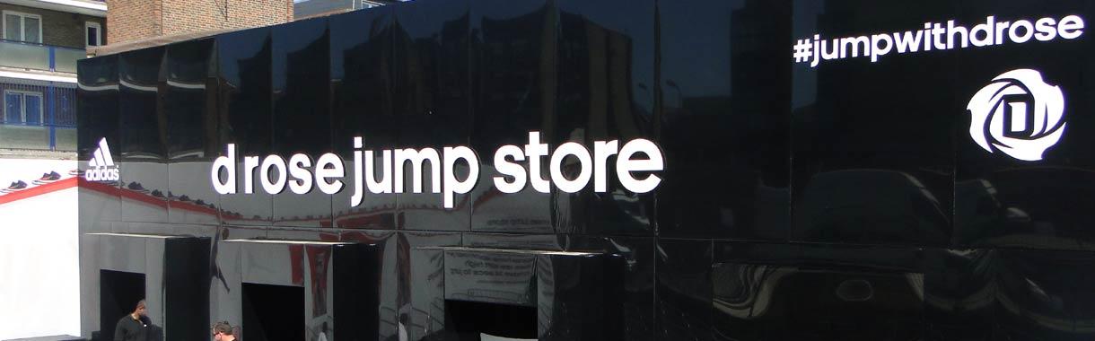 pop up event adidas shop