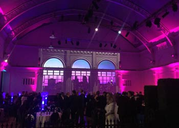 projection mapping christmas party london