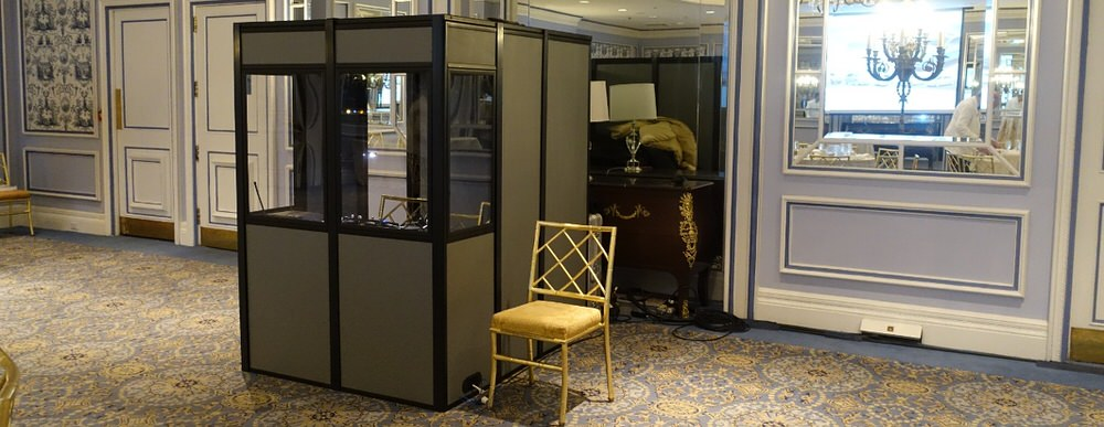 translation booth london hotel