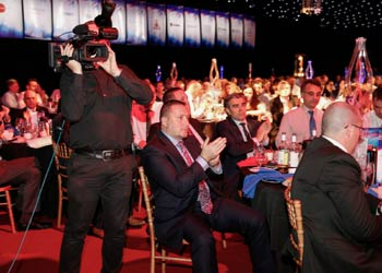 camera hire & video services for awards