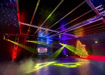 lighting design for christmas parties