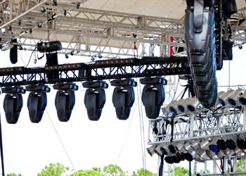 Outdoor festival lighting uk
