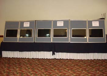 translation booth setup in london hotel