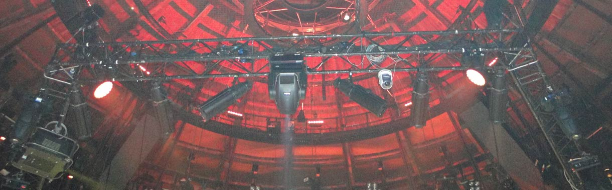 truss rigging roundhouse london
